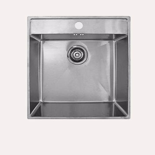 Billede af ECO 50 køkkenvask. Underlimet rustfri stål