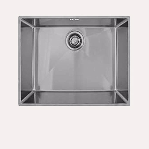 Image of   ECO 500 køkkenvask. Underlimet rustfri stål køkkenvask