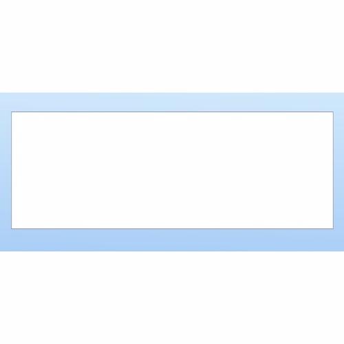 Image of   Fixmålsplade 2117 x 750mm. Hvid melamin, 15mm. 1 kantliste