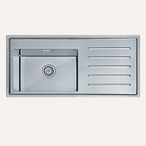 Image of   Franke VLX 611-100. Silestone / Kompositsten planlimet køkkenvask