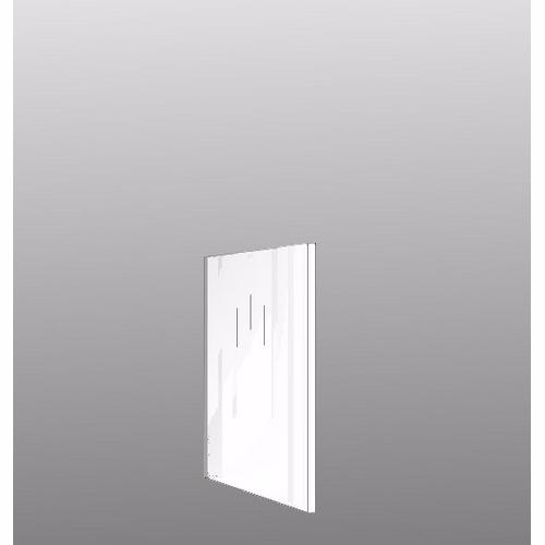 Image of   Integrerbar skabsgavl 89.6x32cm Hvid malet front