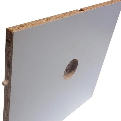 Image of   Indboring til spot i overskabe, skjult ledningsføring