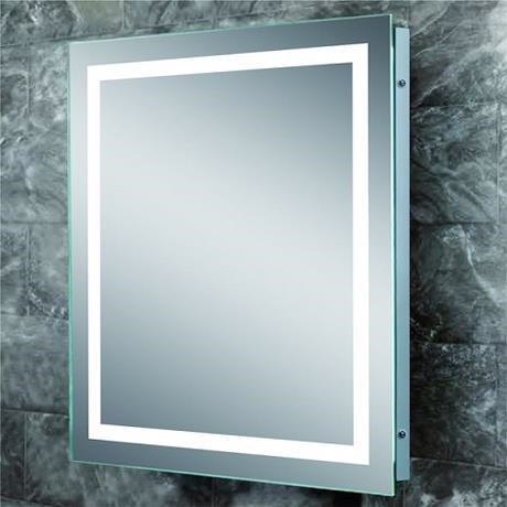 Image of   Bad spejl m/lys - Light Frame 120x90 cm