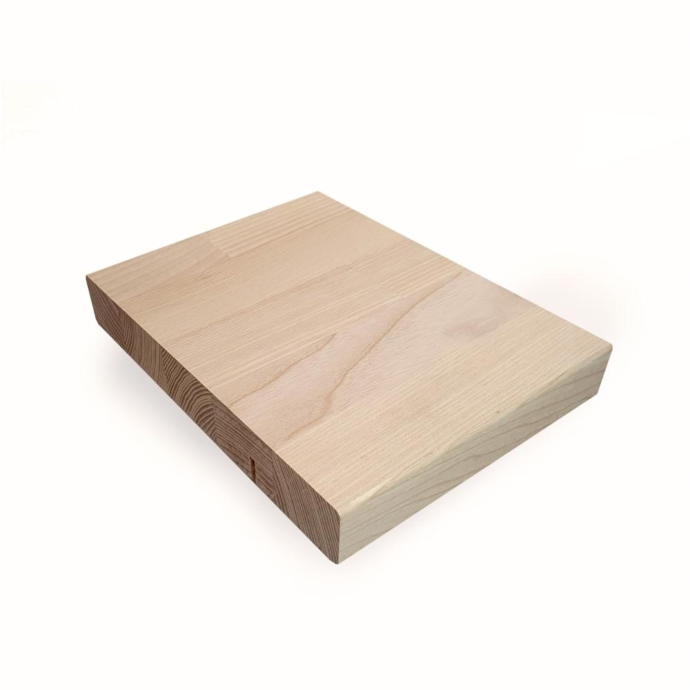 Image of   Ask Hvidolie bordplade
