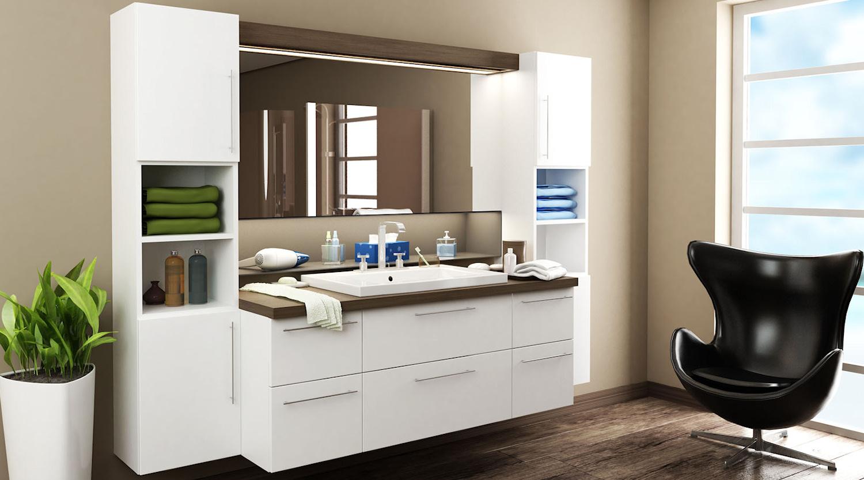 badeværelsesmøbler tilbud Billige badeværelsesmøbler med hvid front   Find møblerne her badeværelsesmøbler tilbud