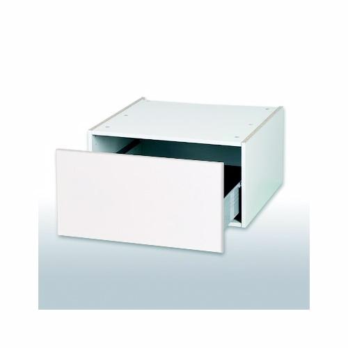 Malet hvid front Skuffekassette b: 60 cm. Standard - Kassette - malet hvid front