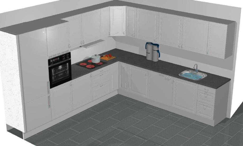 Få et køkken/bad tilbud ud fra din tegning eller liste