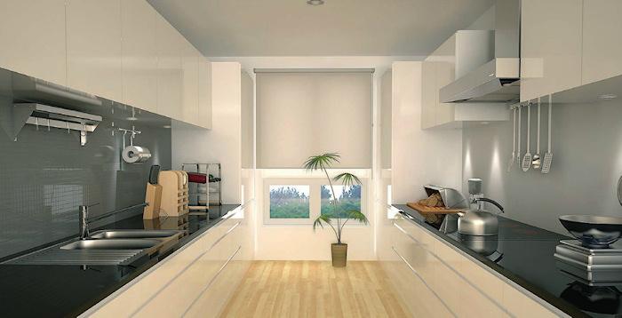 Grebsfri hvide højglans køkkenskabe i mange varianter