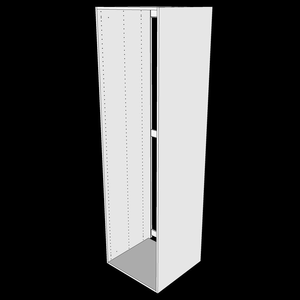 Image of   Ekstra højt indbygningsskab til køl H: 214,4 cm D: 58,0 cm - Uden låge