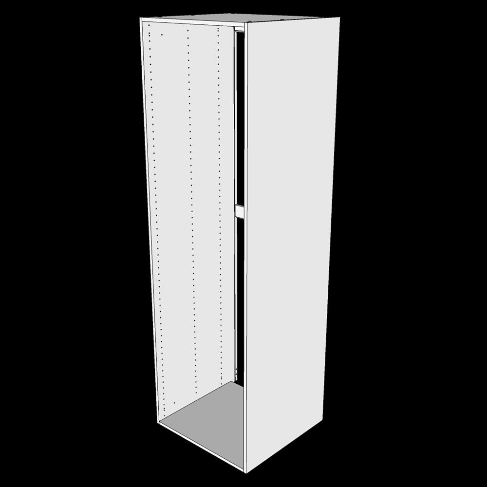 Image of   Indbygningsskab til køl H: 195,2 cm D: 60,0 cm - Uden låge