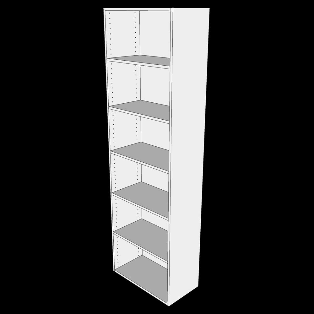 Tilpasningskab H: 195.2 cm D: 32 cm - Uden låge