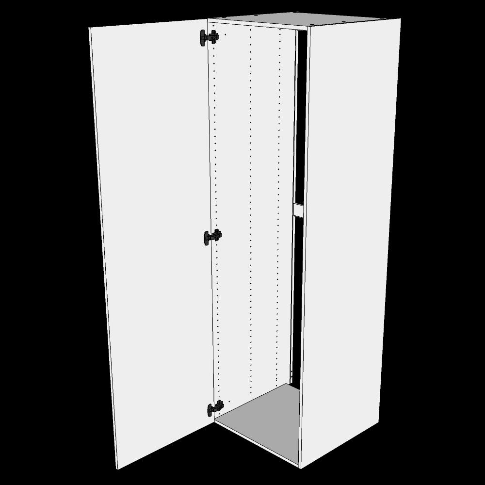 Image of   Indbygningsskab til køl H: 195,2 cm D: 60,0 cm - 1 låge