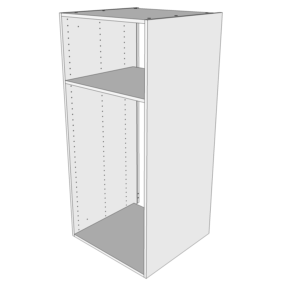 Image of   Indbygningsskab til køl H: 131.2 cm D: 60,0 cm - Uden låge