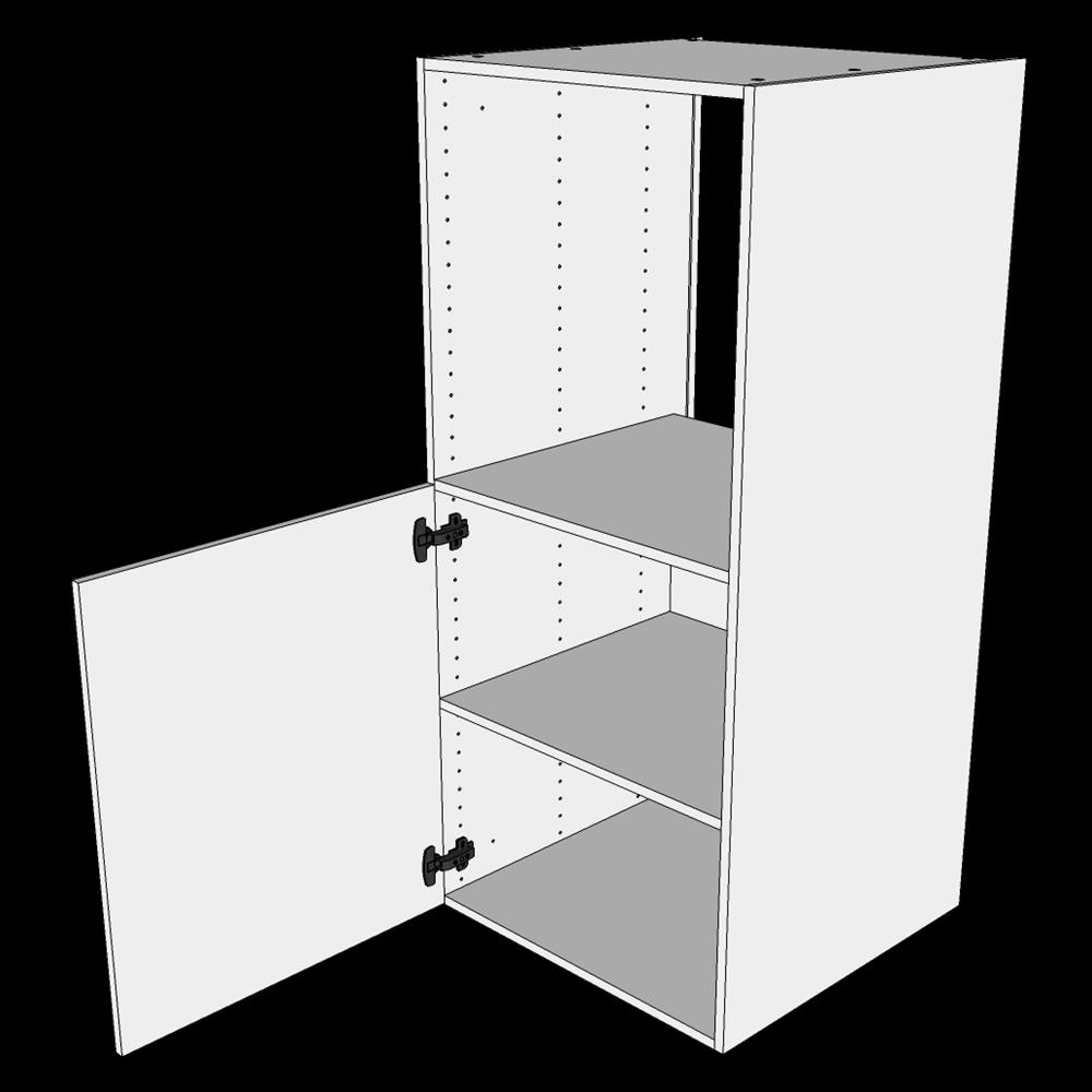 Image of   Indbygningsskab til ovn H: 131,2 cm D: 60,0 cm - 1 låge hylde