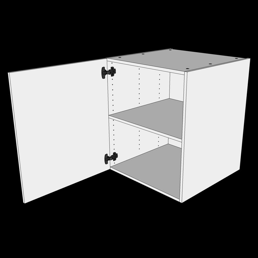 Image of   Hyldeskab H: 70,4 cm D: 60,0 cm - 1 låge inklusiv 1 hylde