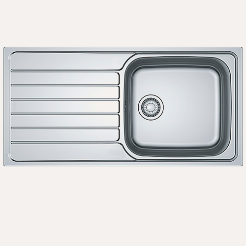 Image of   Franke SKX 611-100. Kompaktlaminat underlimet køkkenvask