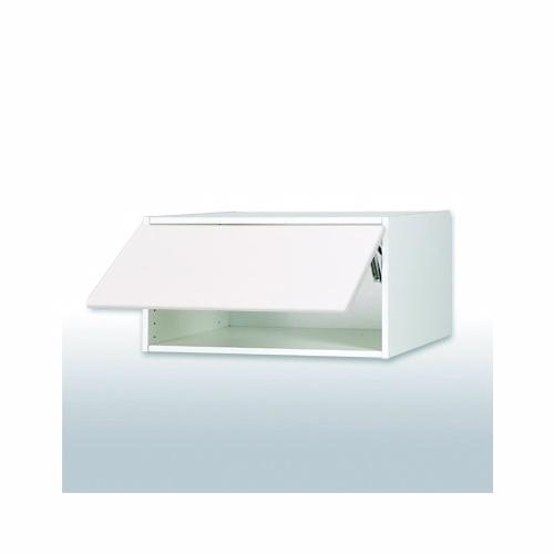 Malet hvid front Toplågekassette b: 60 cm. - Kassette - malet hvid front