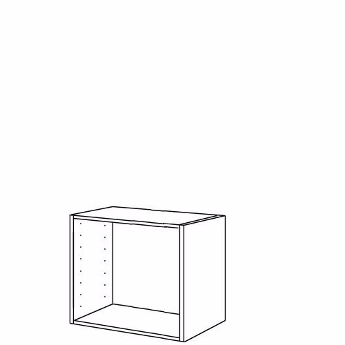 Image of   Kabinet 57.6 x 80 x 51 cm HxBxD